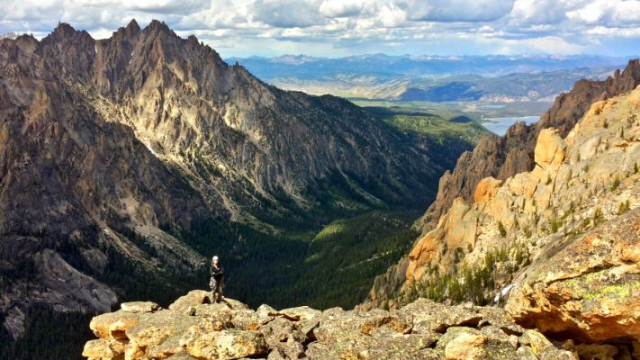 Redfish Canyon Sawtooth Range Idaho 1