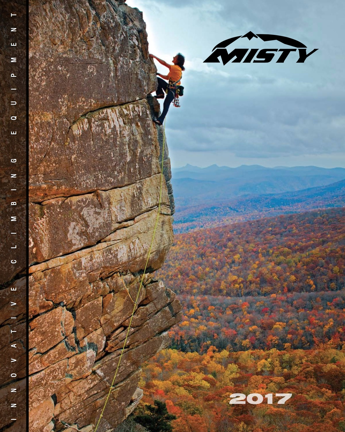 Misty Mountain 2017 Catalog Cover