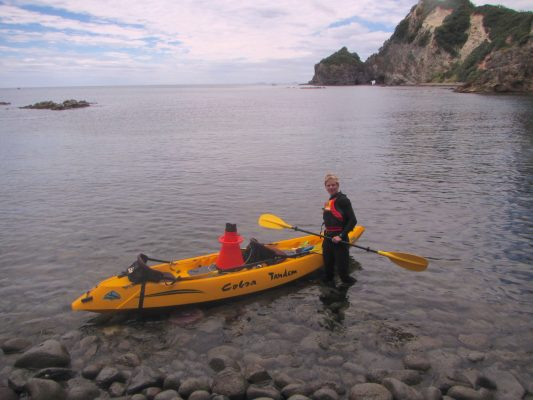 Helen Sinclair Kayaking New Zealand 1