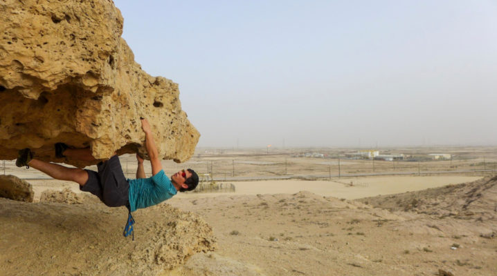 Alan Goldbetter Misty Mountain Threadworks Ambassador Update Bahrain Bouldering 6